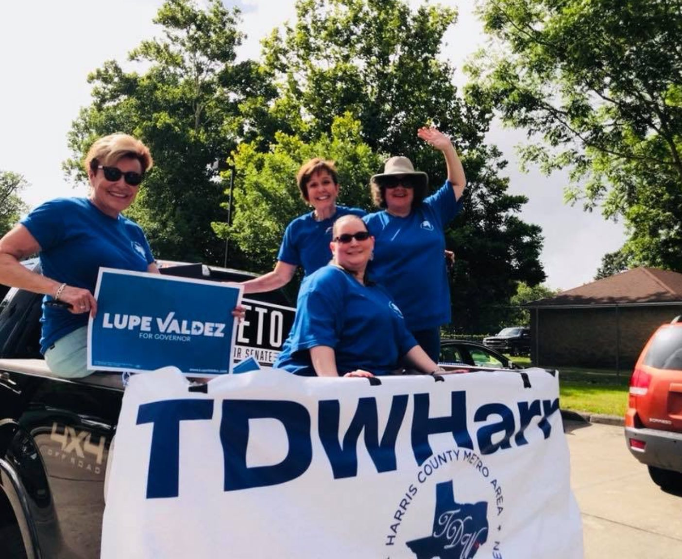 TDWHarris rode in Juneteenth Parade 2018!